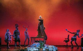 Σκηνή από το έργο της Βίκυς Κυριακουλάκου «Η τέχνη του πολέμου», που θα παρουσιαστεί στο θεατρικό φεστιβάλ «Future N.O.W.» του Ιδρύματος Ωνάση.