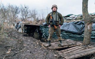 H Ρωσία εκφράζει φόβους ότι η Ουκρανία θα επιχειρήσει ανακατάληψη των επαρχιών, χρησιμοποιώντας ακόμη και απειλές για «νέα Σρεμπρένιτσα» (φωτ. A.P. Photo/Evgeniy Maloletka).