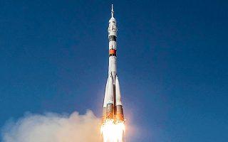 Η χθεσινή εκτόξευση ήταν η 146η του προγράμματος επανδρωμένων πυραύλων Σογιούζ, που ξεκίνησε στις 23 Απριλίου 1967 (φωτ. NASA/Bill Ingalls/Handout via REUTERS).