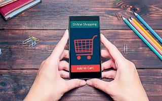 Το 2020 οι καταναλωτές δαπάνησαν 900 δισ. δολάρια περισσότερα στο ηλεκτρονικό εμπόριο σε σύγκριση με το 2019 (φωτ. Shutterstock).