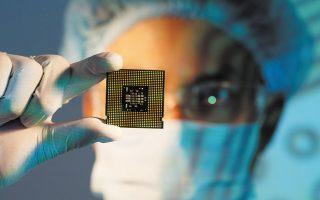 Η Intel Corp. ανακοίνωσε πως θα εγκαινιάσει την παραγωγή επεξεργαστών στα εργοστάσιά της μέσα στους επόμενους έξι έως εννέα μήνες (φωτ. SHUTTERSTOCK).