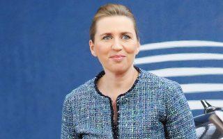 Η πρωθυπουργός της Δανίας Μέτε Φρέντρικσεν.