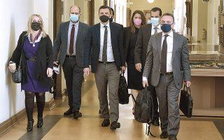 Aνοιξε χθες στην προανακριτική επιτροπή για την υπόθεση του κ. Ν. Παππά ο κύκλος καταθέσεων των μαρτύρων (φωτ. INTIME NEWS).