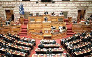 Το νομοσχέδιο για τα εργασιακά αναμένεται να κατατεθεί στη Βουλή περί τα μέσα Μαΐου (φωτ. INTIME NEWS).
