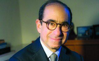 Ο αντιπρόεδρος και επικεφαλής του γραφείου Βρυξελλών του German Marshall Fund of the United States, Ιαν Λέσερ.