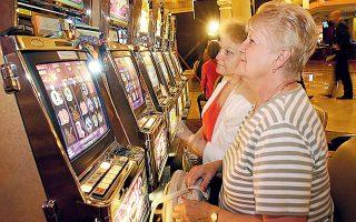 Το 72,83% του κύκλου εργασιών (TGR) των επιχειρήσεων καζίνο προήλθε από τις παιγνιομηχανές (slot machines), ενώ ο κύκλος εργασιών που προήλθε από τα επιτραπέζια παίγνια (tables) ανήλθε σε ποσοστό 27,17% (φωτ. A.P.).
