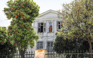Το αρχοντικό όπου έζησε από το 1844 έως το 1847 ο Ιωάννης Κωλέττης. (Φωτ. ΝΙΚΟΣ ΚΟΚΚΑΛΙΑΣ)