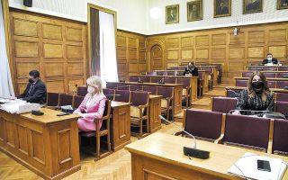 Με επιστολή του και επικαλούμενος θέμα υγείας, ο κ. Καλογρίτσας ζήτησε την αναβολή της εξέτασής του, η οποία είχε προγραμματιστεί για τη σημερινή συνεδρίαση της επιτροπής (φωτ. INTIME NEWS).