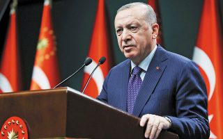 Ο Τούρκος πρόεδρος προειδοποίησε πως οι Αρχές της γειτονικής χώρας ενδέχεται να καταφύγουν και πάλι στα συναλλαγματικά διαθέσιμα «όταν χρειαστεί».