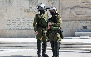 Η αποτελεσματική ενσωμάτωση της χρήσης καμερών στον τρόπο που επιχειρούν τα ελληνικά ΜΑΤ θα απαιτήσει χρόνο, σύμφωνα με τους γνωρίζοντες (φωτ. ΑΠΕ-ΜΠΕ).