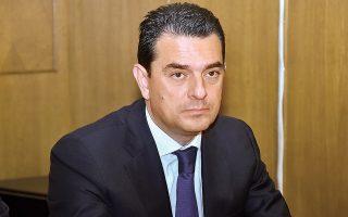 «Μετά το Πάσχα θα έχουμε έτοιμες τις προτάσεις μας», λέει ο Κώστας Σκρέκας. (Φωτ. INTIME NEWS)