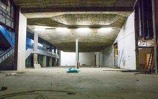 Στα υπόγεια του κτιρίου θα δημιουργηθούν ένας πειραματικός, πολυμορφικός χώρος εκδηλώσεων και ένα κέντρο μουσικής τεχνολογίας με στούντιο και χώρο δοκιμών (φωτ. MarilenaStafylidou).