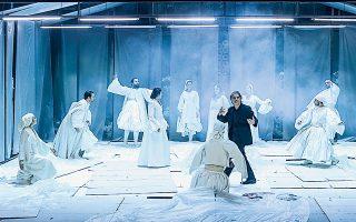 Από το Εθνικό Θέατρο το κορυφαίο έργο του Διονυσίου Σολωμού «Οι ελεύθεροι πολιορκημένοι», σε σκηνοθεσία του Θάνου Παπακωνσταντίνου.