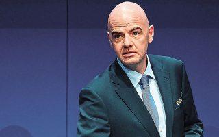 Οι υποψίες για τον Ινφαντίνο ενισχύθηκαν πριν από μερικές μέρες από δημοσίευμα της εφημερίδας Le Monde, η οποία έκανε λόγο για «το ανησυχητικό διπλό παιχνίδι του προέδρου της FIFA».