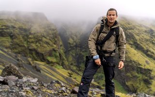 Λίγο πριν ξεκινήσει η «Αποστολή επιβίωσης με τον Bear Grylls» στην Ισλανδία. (Φωτογραφίες: National Geographic/Ben Simms)