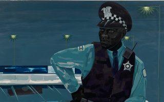 Kerry James Marshall, άτιτλο (αστυνομικός), «Untitled (policeman)», 2015.