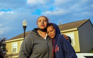 Μια γυναίκα που είπε πως ονομάζεται Χέιζελ Μπράιαντ και είναι θεία του θύματος είπε στην Columbus Dispatch πως η νεαρή ενεπλάκη σε διένεξη με άλλο πρόσωπο (φωτ.: Reuters).