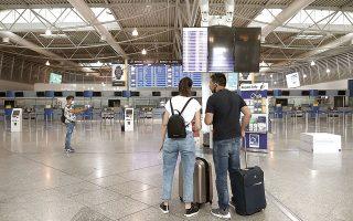 Τον περασμένο Μάρτιο, η επιβατική κίνηση στον Διεθνή Αερολιμένα Αθηνών μειώθηκε κατά 62,4% σε σχέση με τα αντίστοιχα επίπεδα του 2020 και κατά 85,4% σε σχέση με το 2019 (φωτ. INTIME).