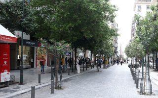 Στην οδό Ερμού το κόστος αγγίζει πλέον τα 260 ευρώ/τ.μ. σε μηνιαία βάση, ενώ στη Γλυφάδα οι τιμές διαμορφώνονται σε 130 ευρώ/τ.μ. (φωτ. INTIME NEWS)