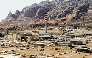 Εγκαταστάσεις επεξεργασίας ουρανίου στο Ιράν. AP Photo/Vahid Salemi