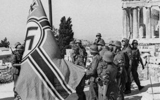Στις 27/4/41 τα γερμανικά στρατεύματα μπαίνουν στην Αθήνα.