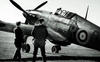 Το βρετανικό καταδιωκτικό Χάρικεϊν. Σήκωσε το βάρος της Μάχης της Αγγλίας, πολέμησε όμως και στην Ελλάδα το 1941.