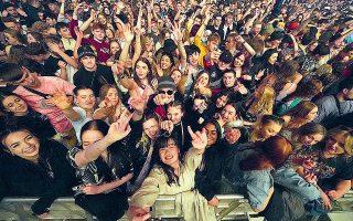 Το πρώτο φεστιβάλ μουσικής χωρίς περιορισμούς για τον κορωνοϊό έγινε στο Σέφτον Παρκ.