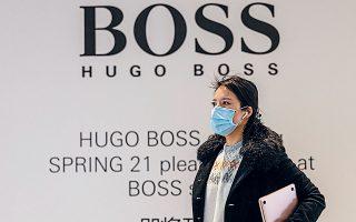 Οι πωλήσεις της Hugo Boss στην Κίνα σχεδόν διπλασιάστηκαν το πρώτο τρίμηνο.