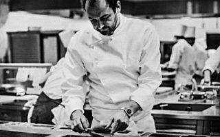 Ο πρωτοπόρος σεφ Ντάνιελ Χουμ.