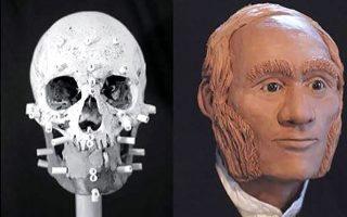 Οι ερευνητές αναπαρέστησαν το πρόσωπο του ναυαγού μετά την ταυτοποίηση του DNA (φωτ. Diana Trepkov / University of Waterloo).