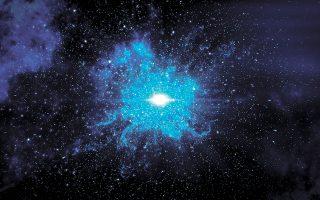 Το τηλεσκόπιο Qubic θα έχει την ικανότητα να «δει» πιο μακριά από ποτέ άλλοτε στο σύμπαν και τον χρόνο, εντοπίζοντας τον σχηματισμό των πρώτων άστρων και την εκπομπή του πρώτου φωτός τη στιγμή του Μπιγκ Μπανγκ, πριν από 13,8 δισ. χρόνια. (Φωτ. SHUTTERSTOCK)