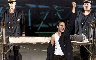 Η παράσταση «Europa», βασισμένη στην ομώνυμη ταινία του Λαρς φον Τρίερ, προβάλλεται στην GNO TV της Εθνικής Λυρικής Σκηνής.