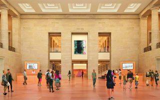 Ο αρχιτέκτων Φρανκ Γκέρι ολοκλήρωσε την ανακαίνιση του Μουσείου Τέχνης της Φιλαδέλφειας.  Φωτ. PHILADELPHIA MUSEUM OF ART