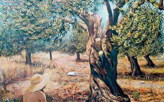 Εργο της Μαρίας Κτιστοπούλου από την έκθεση «Di Natura» της γκαλερί ArtPrisma.