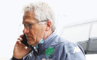 Η συνεργασία του Λάζλο Μπόλονι με τους «πράσινους» έλαβε και επίσημα τέλος χθες το μεσημέρι (φωτ. INTIMENEWS).