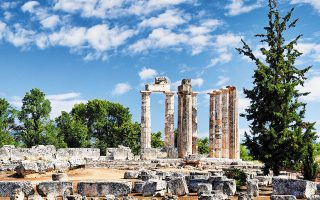 Στον αρχαιολογικό χώρο της Νεμέας θα μπορούν να πραγματοποιούνται εκδηλώσεις γευσιγνωσίας, παρουσιάσεις γαστρονομικών προϊόντων, σεμινάρια κ.ά. (φωτ. shutterstock)