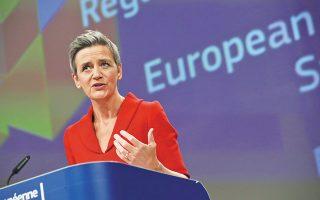 Η αντιπρόεδρος της Ε.Ε. και αρμόδια για θέματα Ανταγωνισμού Μαργκρέτε Βεστάγκερ φαίνεται να αντιμετωπίζει θετικά την ελληνική πρόταση ενίσχυσης των διμερών συμβολαίων από ΑΠΕ μεταξύ παραγωγών και ενεργοβόρων βιομηχανικών καταναλωτών.