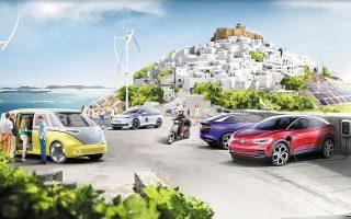 Η αγορά ηλεκτρικού αυτοκινήτου θα επιδοτηθεί σε ποσοστό 40% και μέχρι του ποσού των 12.000 ευρώ και με επιπλέον 3.000 ευρώ θα επιδοτείται η απόσυρση συμβατικού αυτοκινήτου.