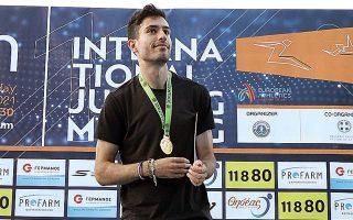 Ο Τεντόγλου θα επιχειρήσει να καταρρίψει το πανελλήνιο ρεκόρ του Τσάτουμα (8,66) την Κυριακή στα «Βενιζέλεια - Χανιά» (φωτ. INTIMENEWS).