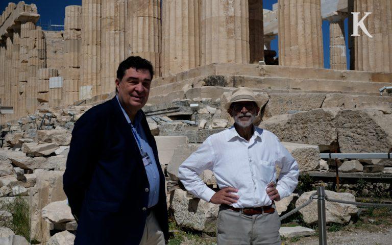 talK: Ανάβαση στην Ακρόπολη με τον Μανόλη Κορρέ