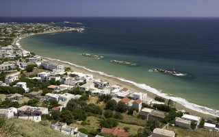 Φωτ. ΙΝΤΙΜΕ: Η παραλία Μώλος στη Σκύρο