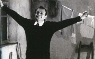 Φωτ. αρχείου: Ο Μ. Κακογιάννης στα γυρίσματα του «Αλέξη Ζορμπά» το 1964