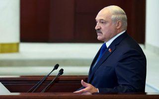 Ο Λευκορώσος πρόεδρος Αλ. Λουκασένκο (Φωτ. ΑP)