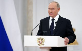 Φωτ. Ramil Sitdikov, Sputnik, Kremlin Pool Photo via AP