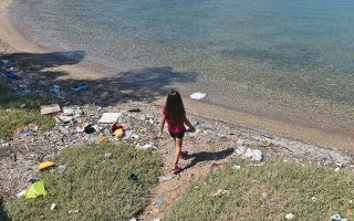 Οι ομάδες που θα υιοθετήσουν μια παραλία θα εκπαιδευτούν από το WWF ώστε να παρακολουθούν και να καταγράφουν τα απορρίμματα σε αυτήν 2-4 φορές τον χρόνο (φωτ. INTIME NEWS).