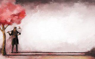 Η παράσταση «(Somewhere) beyond the cherry trees» του Πρόδρομου Τσινικόρη στην Πειραιώς 260.