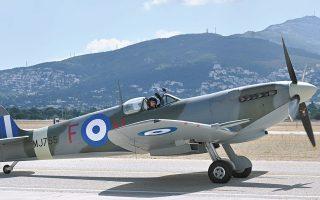 Το Spitfire MJ755 θα κοσμεί πλέον το Μουσείο της Πολεμικής Αεροπορίας (φωτ. INTIME NEWS).