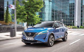 Το κομψό νέο Nissan Qashqai σχεδιάστηκε από την ομάδα της Nissan Design Europe στο Λονδίνο.