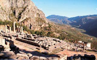 Οι Δελφοί είναι ένας από τους αρχαιολογικούς χώρους για τους οποίους θα καταρτιστούν σχέδια προσαρμογής στις επιπτώσεις της κλιματικής αλλαγής (φωτ. Shutterstock).