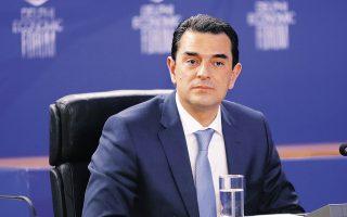 Ο υπουργός Περιβάλλοντος και Ενέργειας Κώστας Σκρέκας. (Φωτ. ΑΠΕ-ΜΠΕ / ΒΑΪΟΣ ΧΑΣΙΑΛΗΣ)
